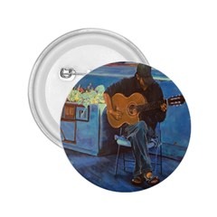 Man and His Guitar 2.25  Buttons