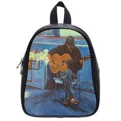 Man and His Guitar School Bags (Small)