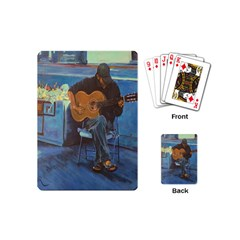 Man and His Guitar Playing Cards (Mini)