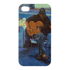 Man And His Guitar Apple Iphone 4/4s Hardshell Case