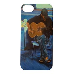 Man and His Guitar Apple iPhone 5S/ SE Hardshell Case