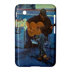 Man and His Guitar Samsung Galaxy Tab 2 (7 ) P3100 Hardshell Case