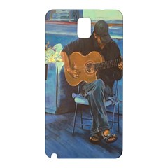Man and His Guitar Samsung Galaxy Note 3 N9005 Hardshell Back Case