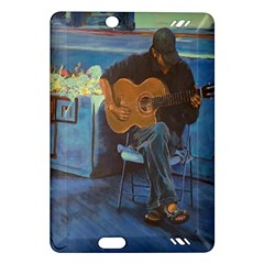 Man and His Guitar Amazon Kindle Fire HD (2013) Hardshell Case