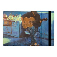 Man and His Guitar Samsung Galaxy Tab Pro 10.1  Flip Case
