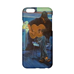 Man And His Guitar Apple Iphone 6/6s Hardshell Case