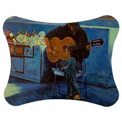 Man And His Guitar Jigsaw Puzzle Photo Stand (bow)
