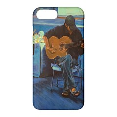 Man And His Guitar Apple Iphone 7 Plus Hardshell Case
