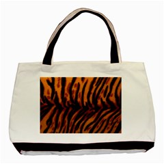 Animal Background Cat Cheetah Coat Basic Tote Bag