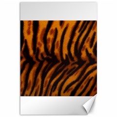 Animal Background Cat Cheetah Coat Canvas 12  X 18