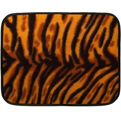 Animal Background Cat Cheetah Coat Fleece Blanket (mini)