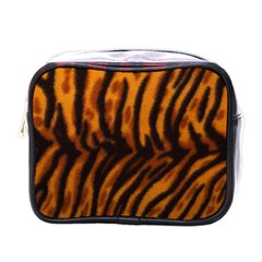 Animal Background Cat Cheetah Coat Mini Toiletries Bags