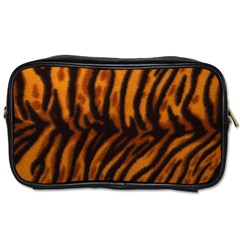 Animal Background Cat Cheetah Coat Toiletries Bags 2 Side