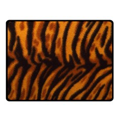 Animal Background Cat Cheetah Coat Fleece Blanket (small)