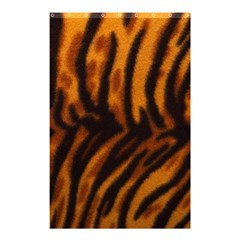 Animal Background Cat Cheetah Coat Shower Curtain 48  X 72  (small)