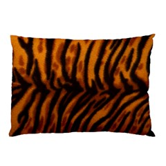 Animal Background Cat Cheetah Coat Pillow Case (two Sides)
