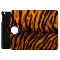 Animal Background Cat Cheetah Coat Apple Ipad Mini Flip 360 Case
