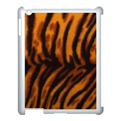Animal Background Cat Cheetah Coat Apple Ipad 3/4 Case (white)