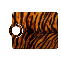 Animal Background Cat Cheetah Coat Kindle Fire Hd (2013) Flip 360 Case