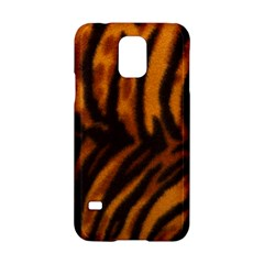 Animal Background Cat Cheetah Coat Samsung Galaxy S5 Hardshell Case