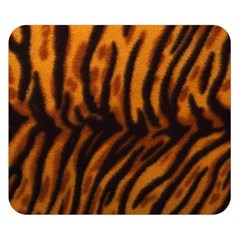 Animal Background Cat Cheetah Coat Double Sided Flano Blanket (small)