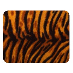 Animal Background Cat Cheetah Coat Double Sided Flano Blanket (large)