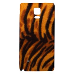 Animal Background Cat Cheetah Coat Galaxy Note 4 Back Case