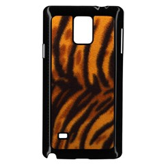 Animal Background Cat Cheetah Coat Samsung Galaxy Note 4 Case (black)
