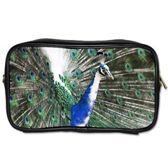 Animal Photography Peacock Bird Toiletries Bags 2 Side