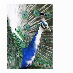 Animal Photography Peacock Bird Small Garden Flag (two Sides)