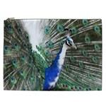 Animal Photography Peacock Bird Cosmetic Bag (XXL)  Front