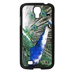 Animal Photography Peacock Bird Samsung Galaxy S4 I9500/ I9505 Case (black)