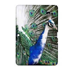 Animal Photography Peacock Bird Samsung Galaxy Tab 2 (10 1 ) P5100 Hardshell Case