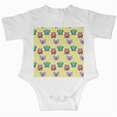 Animals Pastel Children Colorful Infant Creepers