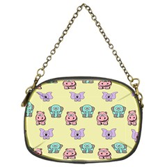 Animals Pastel Children Colorful Chain Purses (one Side)