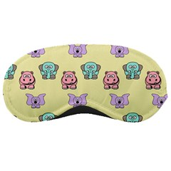 Animals Pastel Children Colorful Sleeping Masks
