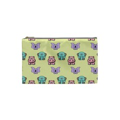 Animals Pastel Children Colorful Cosmetic Bag (small)