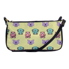 Animals Pastel Children Colorful Shoulder Clutch Bags