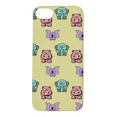Animals Pastel Children Colorful Apple Iphone 5s/ Se Hardshell Case