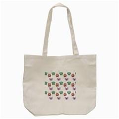 Animals Pastel Children Colorful Tote Bag (cream)