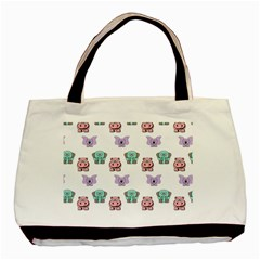 Animals Pastel Children Colorful Basic Tote Bag (two Sides)