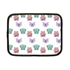 Animals Pastel Children Colorful Netbook Case (small)