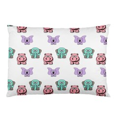 Animals Pastel Children Colorful Pillow Case