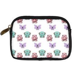 Animals Pastel Children Colorful Digital Camera Cases