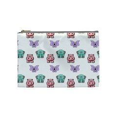 Animals Pastel Children Colorful Cosmetic Bag (medium)