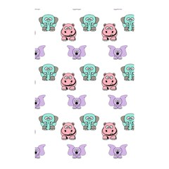 Animals Pastel Children Colorful Shower Curtain 48  X 72  (small)