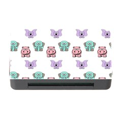 Animals Pastel Children Colorful Memory Card Reader With Cf