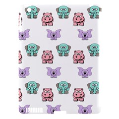 Animals Pastel Children Colorful Apple Ipad 3/4 Hardshell Case (compatible With Smart Cover)