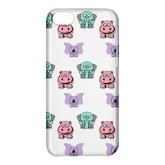 Animals Pastel Children Colorful Apple Iphone 5c Hardshell Case
