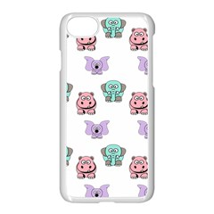 Animals Pastel Children Colorful Apple Iphone 7 Seamless Case (white)